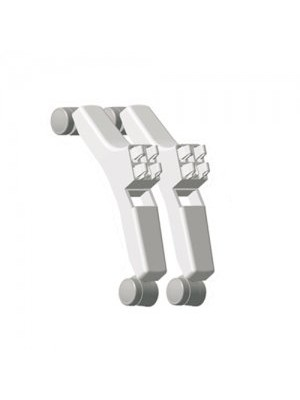 Ножки напольные с роликами OLMO
